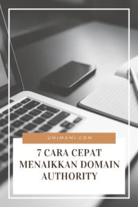 cara cepat menaikkan domain authority
