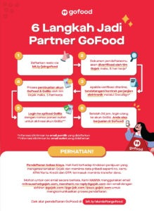 cara daftar gofood online